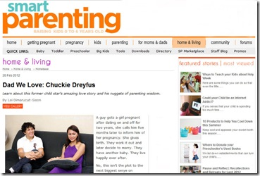 Smart Parenting's Feature On Me