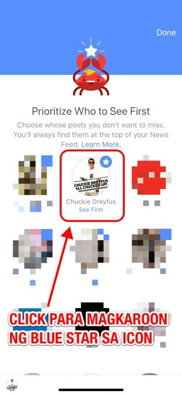 Facebook Page Priority