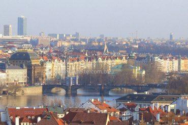 Praga vista do alto