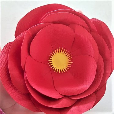 Finished paper flower
