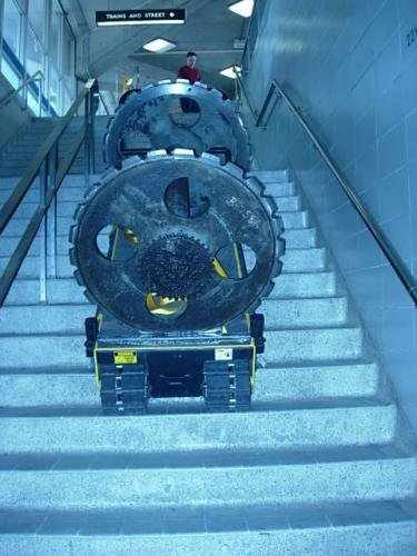 Twin Track 66 stair climber