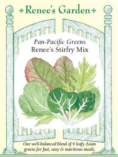 Pan Pacific Greens Renee's Stirfry Mix pack