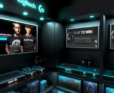 stoisko sklepowe - aniamacja 3D