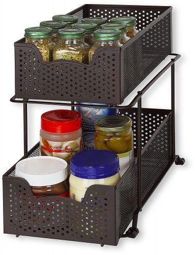 under sink organizer for kitchen   Gift Guide for Messy People