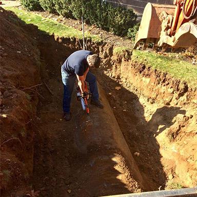 oil tank removal nj property digging