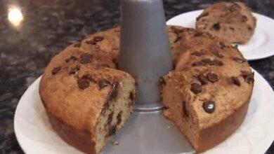 Chocolate and cinnamon cake