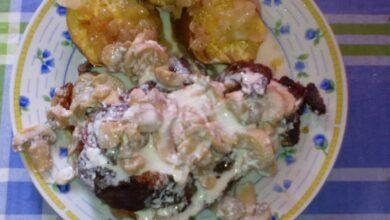 Sweet potato with Vasco steak