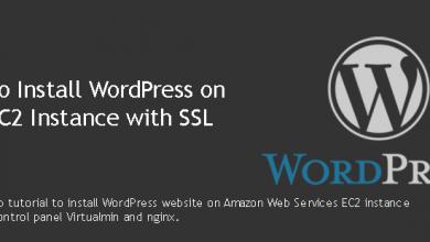 Install WordPress on AWS EC2 Instance with SSL