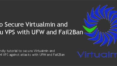 Secure Virtualmin and Ubuntu