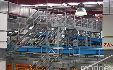 Tuffrail TR30 Industrial Handrail Moddex