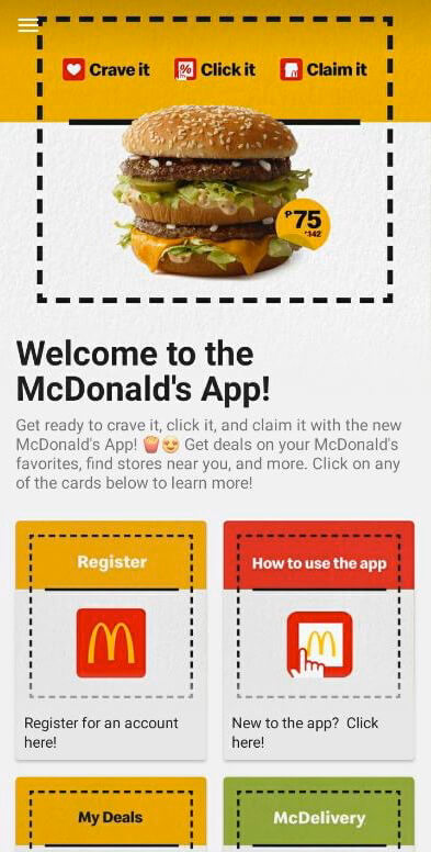 Big discounts with New McDo app