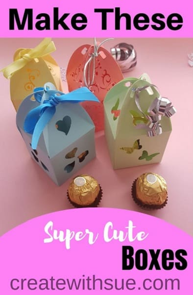 Make these super cute boxes