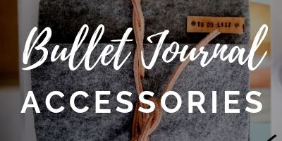 bullet journal accessories