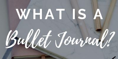 what is a bullet journal, the ultimate guide