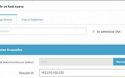 Cómo apuntar un dominio a un alojamiento (hosting)
