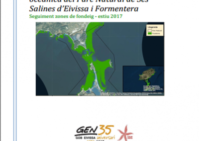 Monitoring of anchoring sites in Ibiza and Formentera – summer 2017