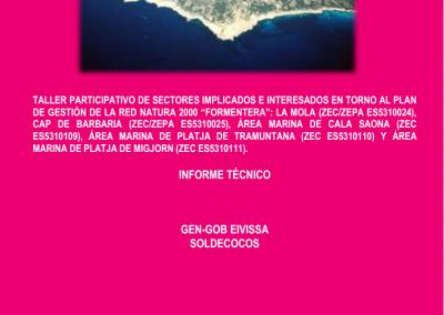 Informe Taller Participatiu Xarxa Natura 2000 Formentera