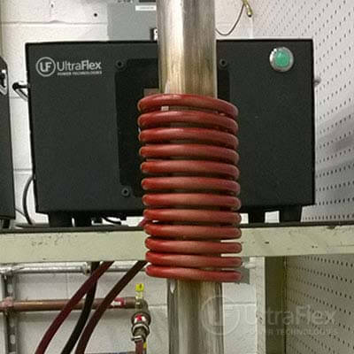 Induction Heating ss tube