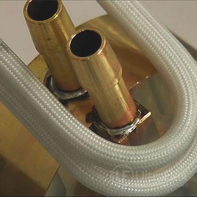 soldering brass tubes