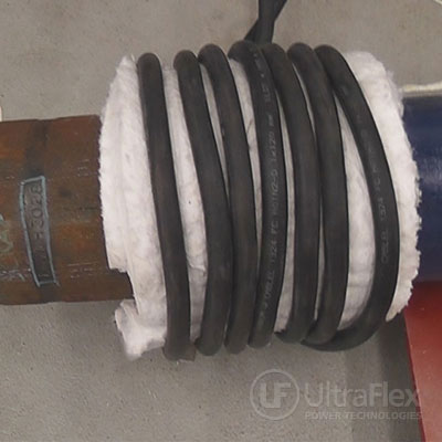 Heating Steel Pipe with induction