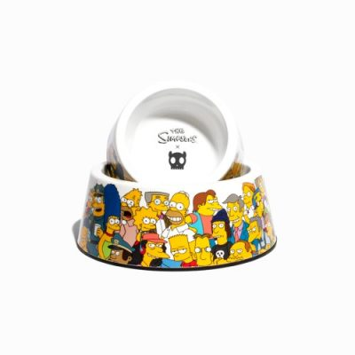 The Springfield dog bowl is part of the exclusive Zee.Dog + The Simpsons collaboration. This dog bowl is made from melamine polymer which makes it easy to clean.