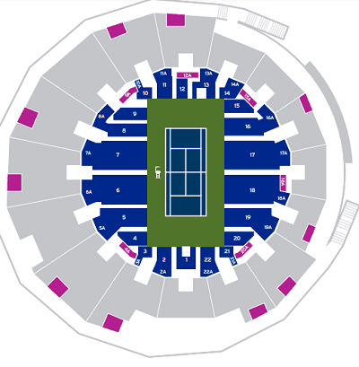 Grandstand Seating Map