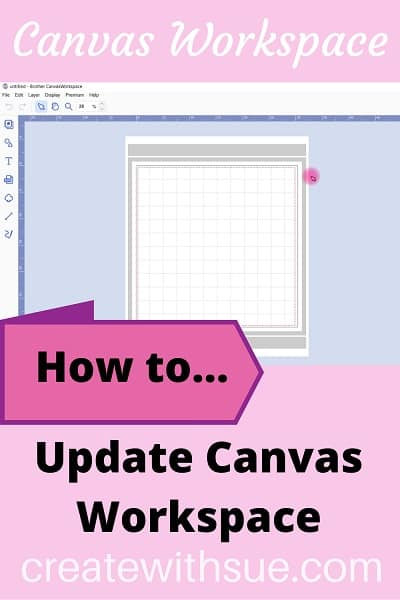 How to update Canvas Workspace tutorial