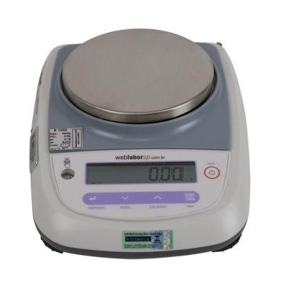 Balança Semi Analítica 1000G 0.01g série L1002i com INMETRO