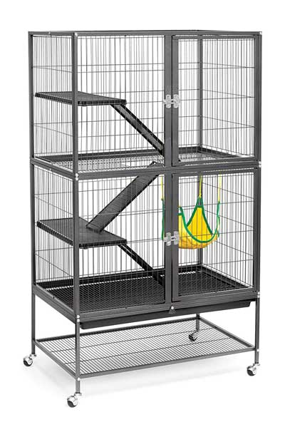 Prevue Hendryx Black Feisty Rat Cage