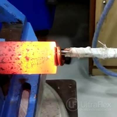 Bore Heating of a Steel Pipe