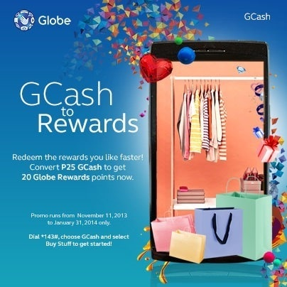 GCash to Globe Rewards