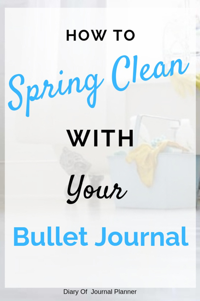 We show you how to Spring Clean with your Bullet Journal, from cleaning products to cleaning schedules that work. Find the best Bullet Journal cleaning layouts here. #bulletjournal #bulletjournallayouts #springcleaning #cleaninglayouts
