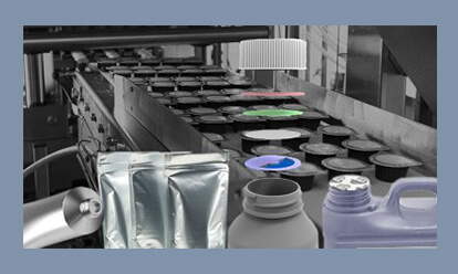 Packaging induction heating