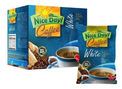Nice Day Coffee WHITE