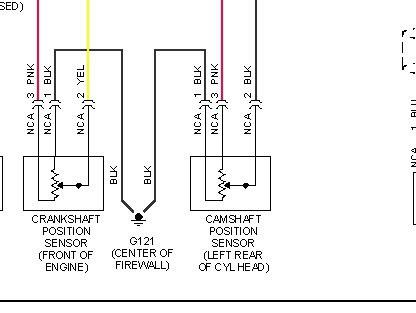 cmp sensor wiring diagram Hyundai Sonata 2.4L