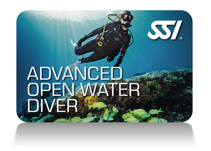 Advanced Open Water certification via SSI