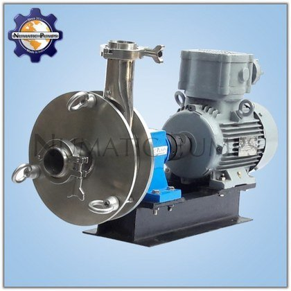 SS316 Centrifugal Dairy Sanitary Milk Pumps Manufacturers