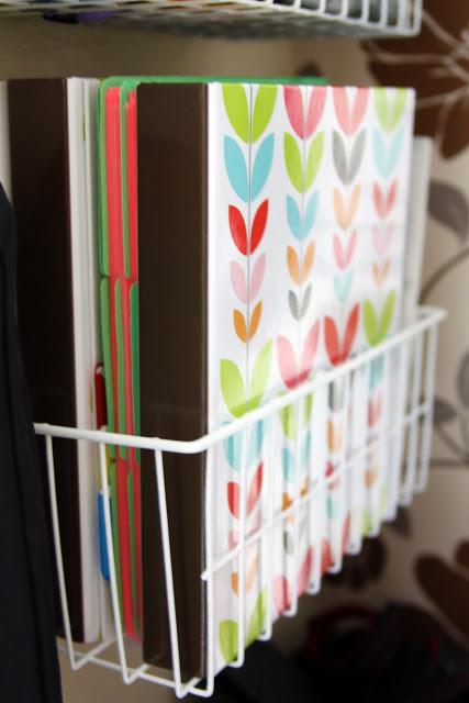 family binder organizing paperwork