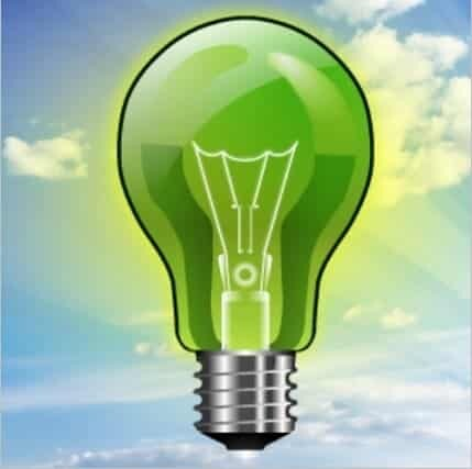 Ampoule verte logistique