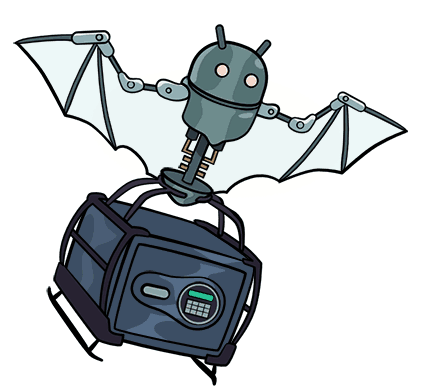 Robot bat and the safety box - VPN on router