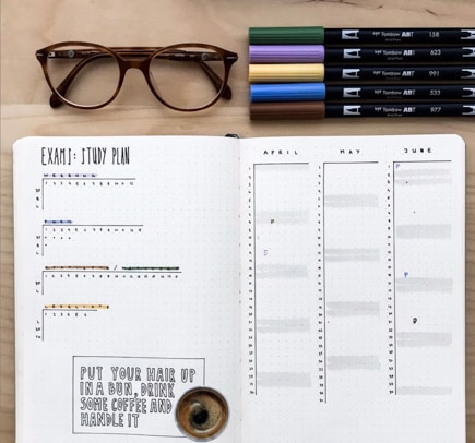 Student Tracker Bullet Journal