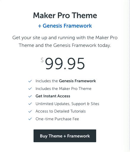 maker pro theme wordpress