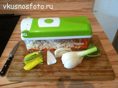 ризотто с овощами рецепт