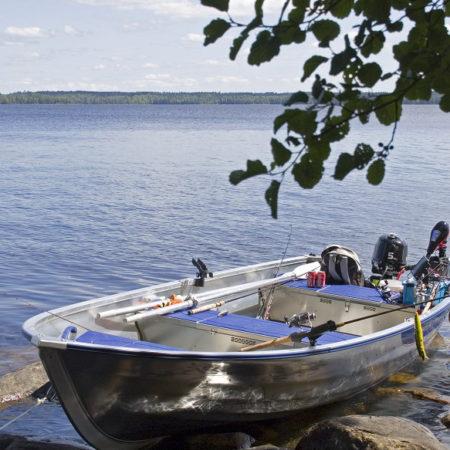 Angelboote mieten bei Smaland Sportfiske, hier eines ihrer schönen Boote.