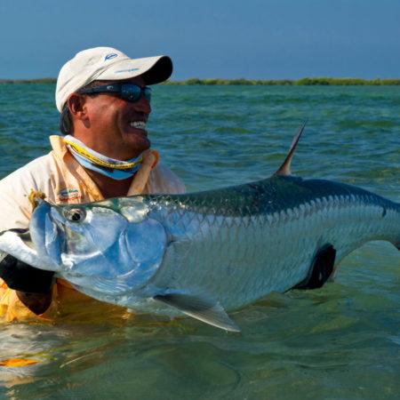 Fliegenfischen auf Tarpun auf Kuba im Angelurlaub