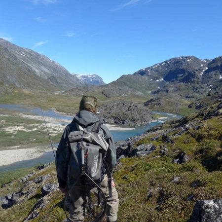 Seesaiblinge angeln auf Grönland im Angelurlaub