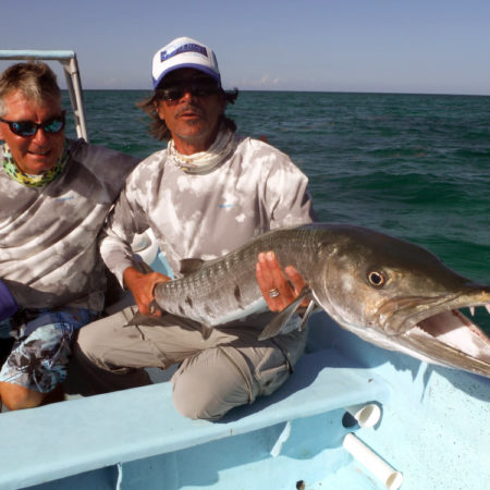 Fly fishing for Snook in Mexico at fishing trip