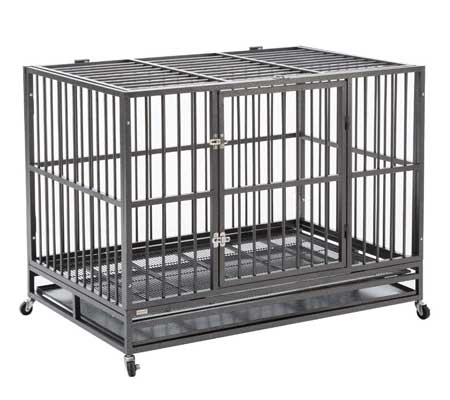 Sliverylake Dog Crate for Truck Beds