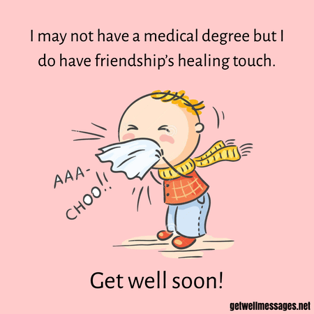 get well soon messages for friend