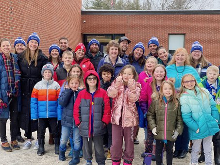 WinterKids Winter Games 2020 Waterboro Opening Ceremony 27